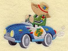 Machine Embroidery Designs at Embroidery Library! - Race Cars