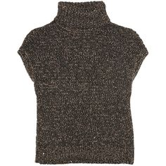 Brunello Cucinelli Embellished cashmere and silk-blend sweater ($945) ❤ liked on Polyvore featuring tops, sweaters, anthracite, silk cashmere sweater, embellished sweater, sequin embellished top, brunello cucinelli and sequin top