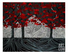 Chaos Giclee Print by Holly D at Art.com