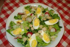 Fejes saláta - nem győzök belőle eleget enni, úgy szeretem! - Ketkes.com