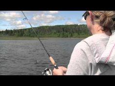 Fishing for Northern Pike on Tobin Lake, #Saskatchewan