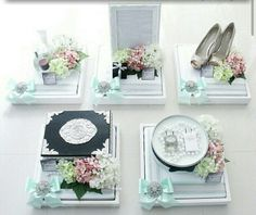 Clean trays are classy Wedding Gift Boxes, Wedding Ring Box, Wedding Stage, Wedding Gifts, Desi Wedding Decor, Wedding Decorations, Muslim Wedding Photos, Engagement Basket, Wedding Organiser