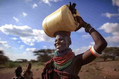 Millions Of Women Take A Long Walk With A 40-Pound Water Can. This burden causes exhaustion, pain and back problems, and takes a lot of time, hurting womens' ability to do paid work and even cutting into their sleep.