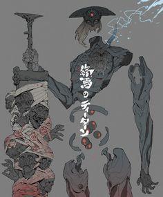 ArtStation - The God hunter, Ching Yeh