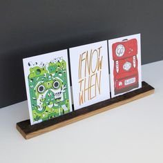 Introducing an updated way to display your favorite art. Handcrafted from Douglas Fir or Long...