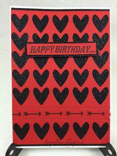 Zipper, Karte, Herzen, Geburtstagskarte, Birthdaycard, #PTI, #Heart_Coverplate #StempelSissi #Sissi_s_kreatives_Kämmerlein