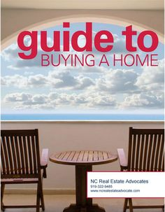 "NC Real Estate Advoc on Twitter: ""Thinking of buying a home in NC? How to start…"