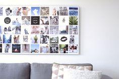 Print je mooiste foto's op dibond aluminium. Met Instawall maak je een persoonlijke wanddecoratie met eigen foto's. Een fotocollage op aluminium is stoer en