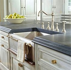 Counters and sink...