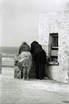 Elliott Erwitt   Ireland. 1964...Ha ha love this photo  It looks like my two old Irish Aunts....