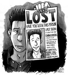 Not being able to recognize yourself. | 21 Comics That Capture The Frustrations Of Depression