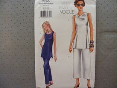 Vogue very easy sewing pattern 7265 for misses' by byRickMarsh, $10.00