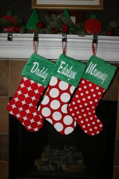 Hey, I found this really awesome Etsy listing at https://www.etsy.com/listing/192435782/personalized-family-christmas-stocking
