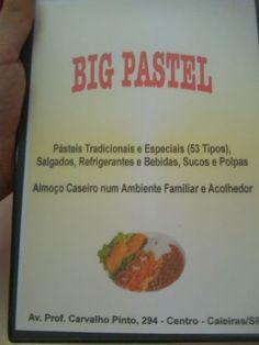 Fotos, opiniões, vídeos e todas as informações sobre Big pastel - São Paulo.