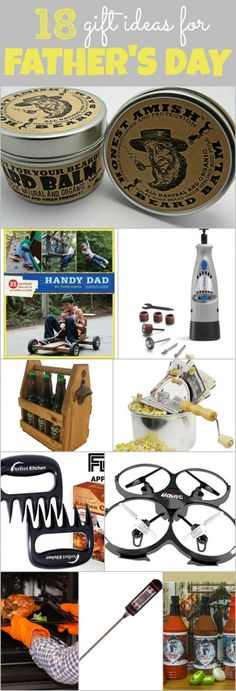 Father's Day Gift Ideas for Your Husband is coming up! Some good ideas, I like the one beard balm.but he would probably prefer a new toy to play wi. Gifts For New Parents, Gifts For Husband, Fathers Day Gifts, Gag Gifts, Cute Gifts, Unique Gifts, Work Bags, Best Husband, Cool Diy Projects