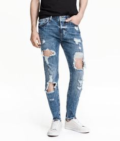 Skinny Low Trashed Jeans #ShoppingIS shoppingis.me