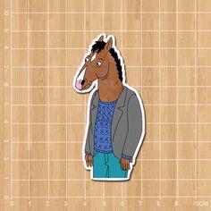 American TV BoJack Horseman Notebook/refrigerator/skateboard/trolley case/backpack/Tables/book sticker PVC sticker  #backpack #Happy4Sales #fashion #YLEY #shoulderbags #bagshop #L09582 #kids #handbags #bag