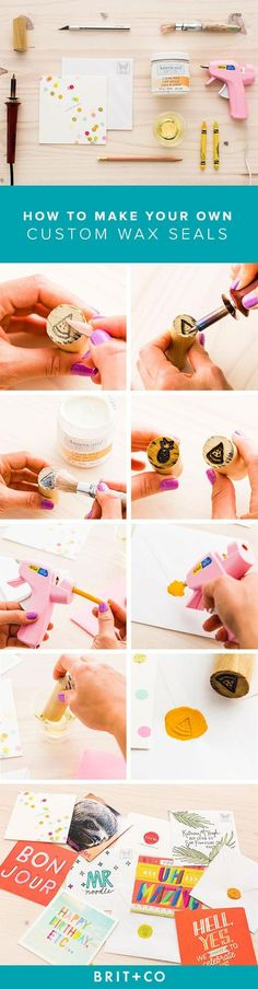 Some creative and easy projects you can do with a hot glue gun.