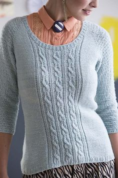 Ravelry: Nebo pattern by Faina Goberstein, knit in our Lhasa Wilderness yarn