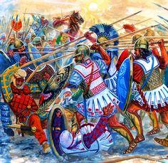 Battle of Cunaxa- by Rava
