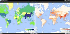 Free Technology for Teachers: How to Compare Maps Side-by-Side in GE Teach