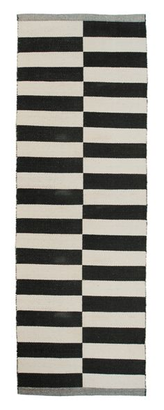 Aspegren-rug-lines-black 100% www.aspegren.dk Rug Runner, Rugs, Runners, Black, Design, Home Decor, Farmhouse Rugs, Hallways, Decoration Home