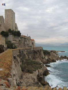 Antibes - France  where I spent many summers as a child