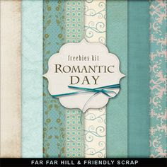 New Freebies Kit - Romantic Day