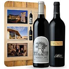 Silver Oak Trophy Reds Wine Gift Set - for his love of red wine.  #redenvelope #fathersday