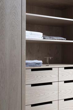 via heavywait - modern design architecture interior design home decor & Bookcase Shelves, Closet Shelves, Closet Storage, Storage Shelves, Shelving, Men Closet, Wardrobe Closet, Walk In Closet, Wardrobe Door Designs