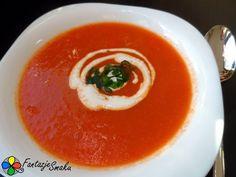 Krem z papryki i pomidorów http://fantazjesmaku.weebly.com/krem-z-papryki-i-pomidoroacutew.html