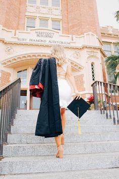 Couple Graduation Pictures, Graduation Picture Poses, Graduation Photoshoot, Grad Pics, Senior Pics, Grad Pictures, College Senior Pictures, Senior Year, Graduation Dress College