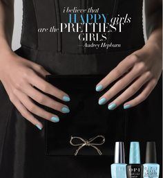Preview OPI Launches Breakfast at Tiffany's Collection for Holidays 2016    Hello Sweeties! HappySaturday! Does it smell like gingerbread already? What? Oh the Holidays season seems far but it is just around the corner! I have great news: OPI is launching this fantastic collection Breakfast at Tiffany's inspired by the ethernal beauty and fashion icon Audrey Hepburn! I tell you I can't wait!!  Keep reading to find out :)  I believe in manicures.  The words famously uttered by film and…