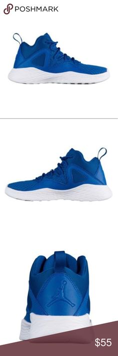 JORDAN's Youth Royal Blue/White 💙 Blue And White  2 Sizes Available 5Y AND 5.5Y Jordan Formula 23 🏀  Youth Size Brand New-NO BOX Super Comfortable! Jordan Shoes Sneakers