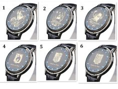 Attack on Titan LED Waterproof PU Leather Watch