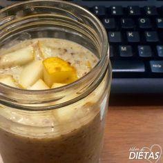 Além das dietas: Mingau de linhaça com leite de coco