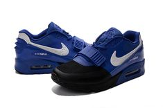 Nike MAX90 west magic buckle the devil shoes lovers black royal blue white  Air 9ab09804d