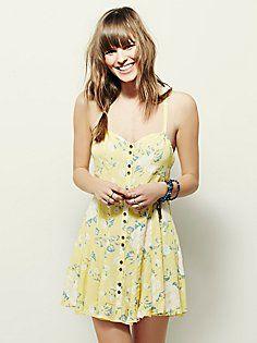 FP X Jenai Mini Dress