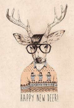 Happy New Deer!