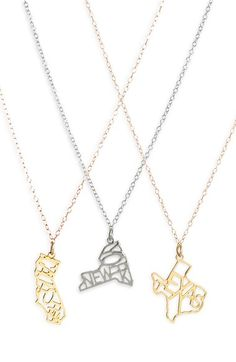 Kris Nations State Pendant Necklace available at #Nordstrom