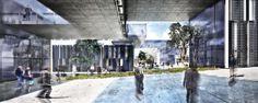 Propuesta ER arquitectos Concurso Edificio Administrativo en Yebes