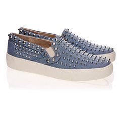 Sam Edelman Braxton Blue Loafers ($93) ❤ liked on Polyvore featuring shoes, loafers, blue, loafer shoes, sam edelman, sam edelman loafers, blue slip on shoes and rubber sole shoes