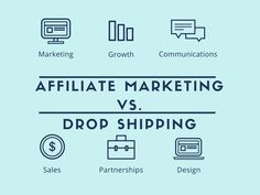 Affiliate Marketing Vs. Drop Shipping. Which is the better choice? #entrepreneur #marketing