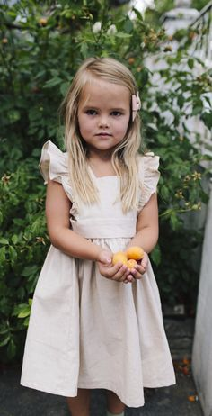 Wren & James offers classic heirloom quality children's clothing. Their girls Pinafore's are every girl (and mama's dream).