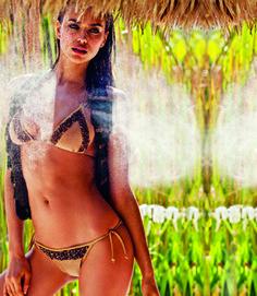 Agua Bendita, AB Essentials Collection, Bendito Honor Swimsuit at LAURELA.COM