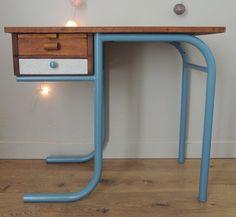 School desk by latelierdegreniers on Etsy