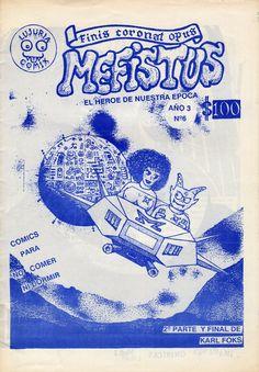 Mefistus N°6  Sexto número del fanzine de cómics «Mefistus, El Héroe de Nuestra Epoca» publicado en Valdivia en 1992. Más información en http://bufoland.blogspot.com/2014/08/fanzine-mefistus-el-heroe-de-nuestra_28.html