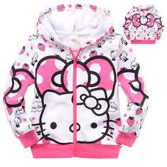Baby Kids Girl Toddlers Hoodies Tracksuit Children Clothing Set Suits Outerwear #Coat #DressyEverydayHoliday