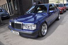 Mercedes-Benz Tuning Blog: Mercedes-Benz 190E 2.6 Limited Edition