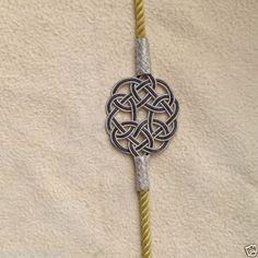 ENDLOSknoten aus reinem FeinSilber in aufwendiger Silberdraht Kunst by imusthaveitac @eBay